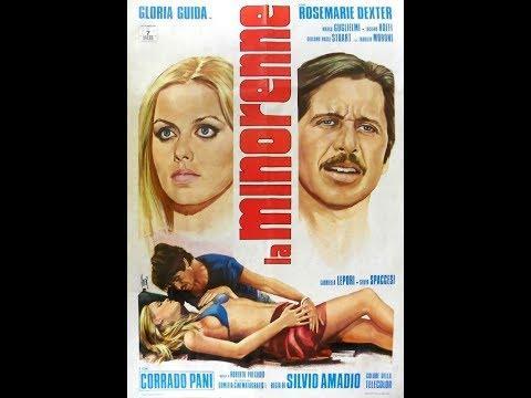 НесовершеннолетняяLa Minorenne (Италия, мелодрама, комедия, эротика, 1974)