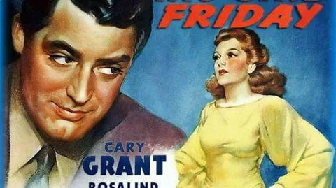 His Girl Friday - Full Movie With Cary Grant & Rosalind Russell