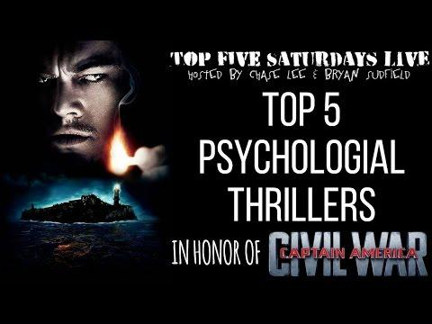 Top 5 Saturdays Live - Psychological Thriller Films