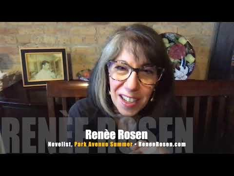 Helen Gurley Brown Goes Cosmo In Renee Rosen's New Novel! 2019 INTERVIEW