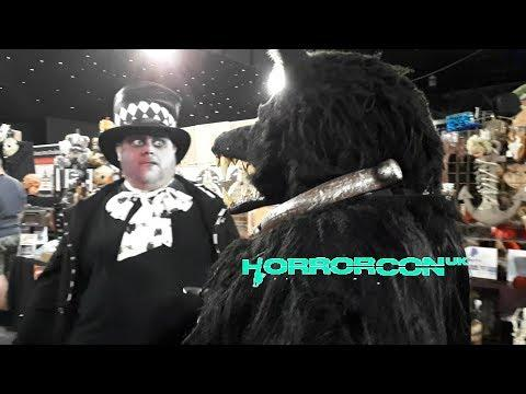 Horror Con UK 2019 - Something Wicked Horror Convention Vlog - Cosplay, NECA Horror Toy Haul & More!