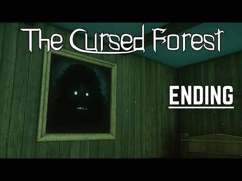 The Cursed Forest - ENDING Gameplay (New Horror Game 2019)