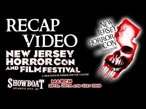 NJ Horror Con Spring 2019 Recap Video