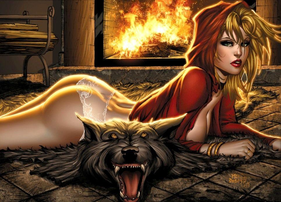 Erotic Adventures Of Red Riding Hood By Film&Clips