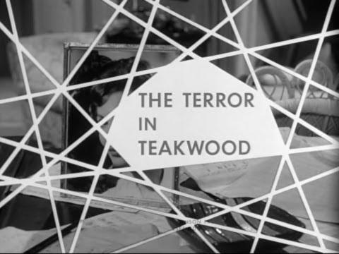 Boris Karloff's Thriller - The Terror In Teakwood