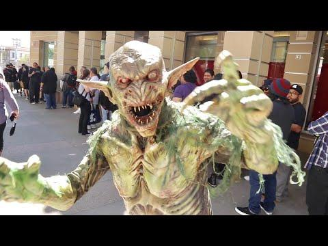 Monsterpalooza 2019 Pasadena Convention Center - Horror Themed Event Celebrating Monsters & Movies