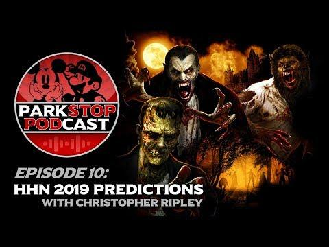 Halloween Horror Nights 2019 Predictions - ParkStop Podcast: Episode 10