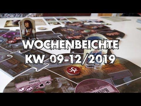 Arkham Horror, Hadara, Railroad Ink U.v.m. - Wochenbeichte #27 (KW 09-12/2019)